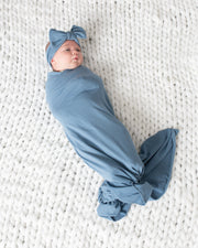 Steel Blue | Mom + Baby Bundle