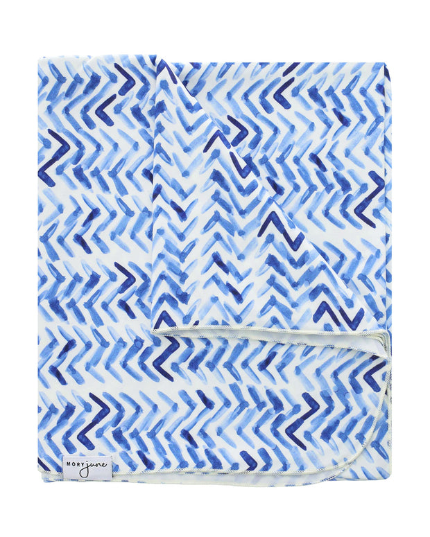 Swaddle Blanket | Indigo Arrow