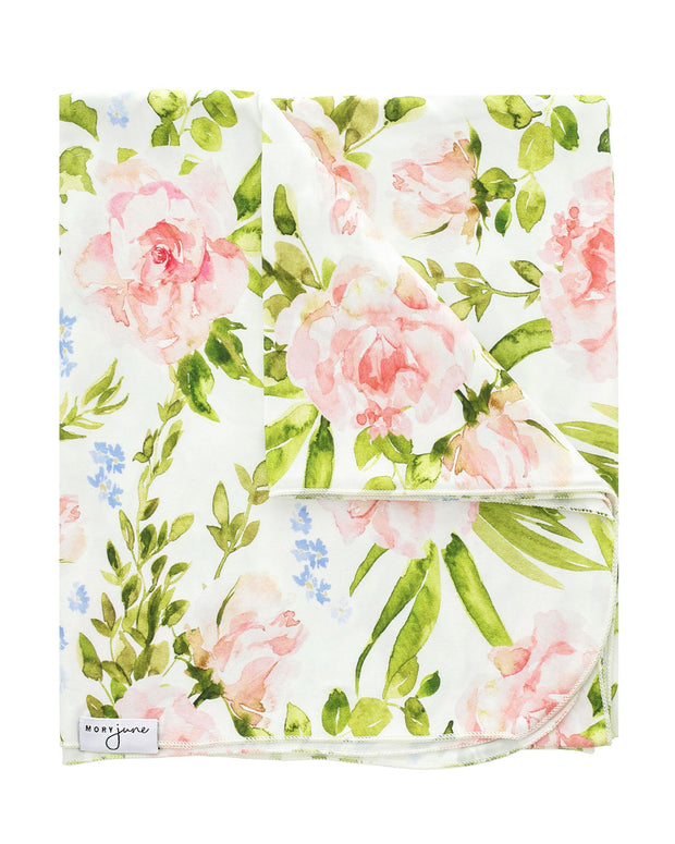 Swaddle Blanket | Bright Blooms