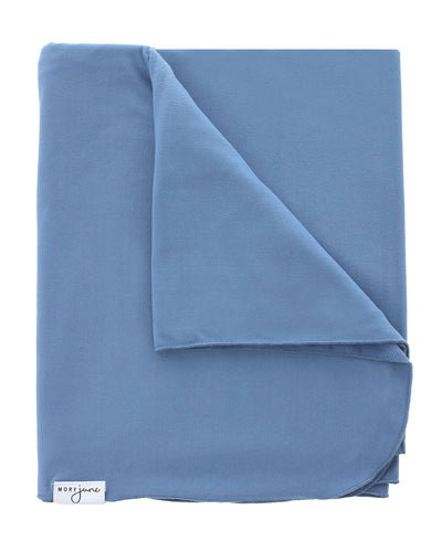 Swaddle Blanket | Steel Blue