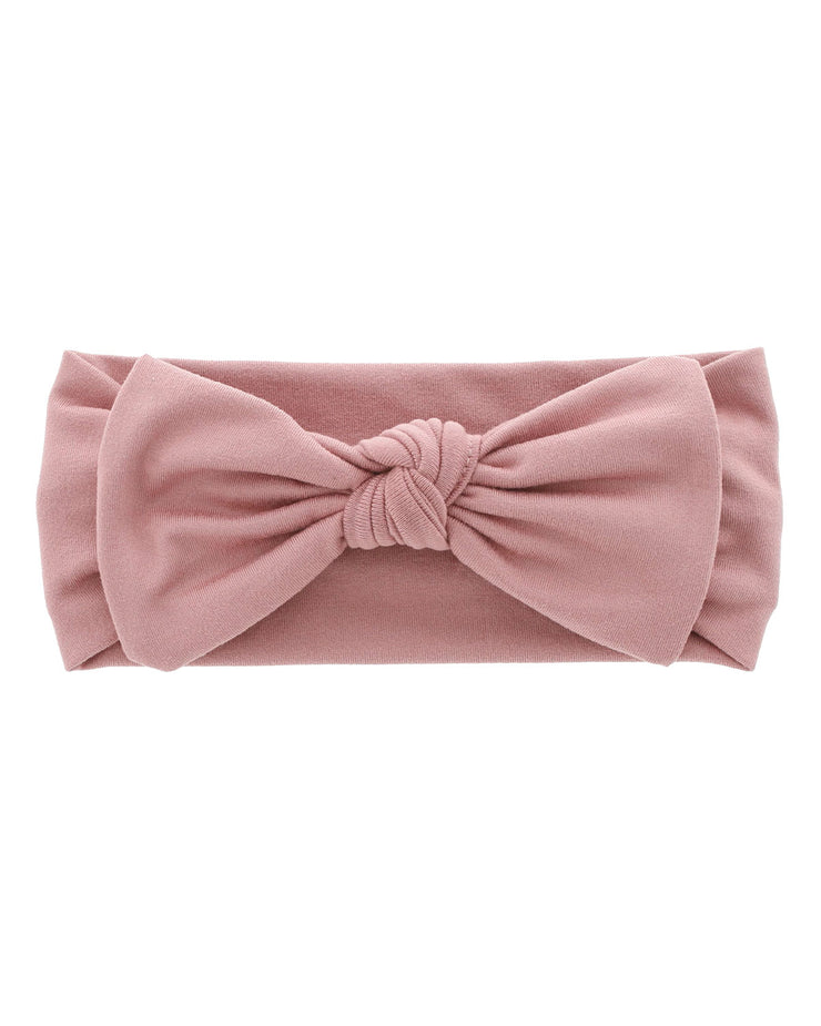 Knit Bow | Dusty Rose