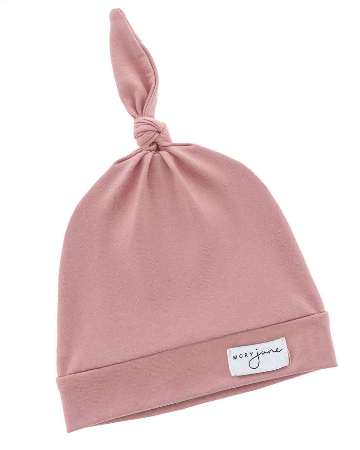 Top Knot Hat | Dusty Rose
