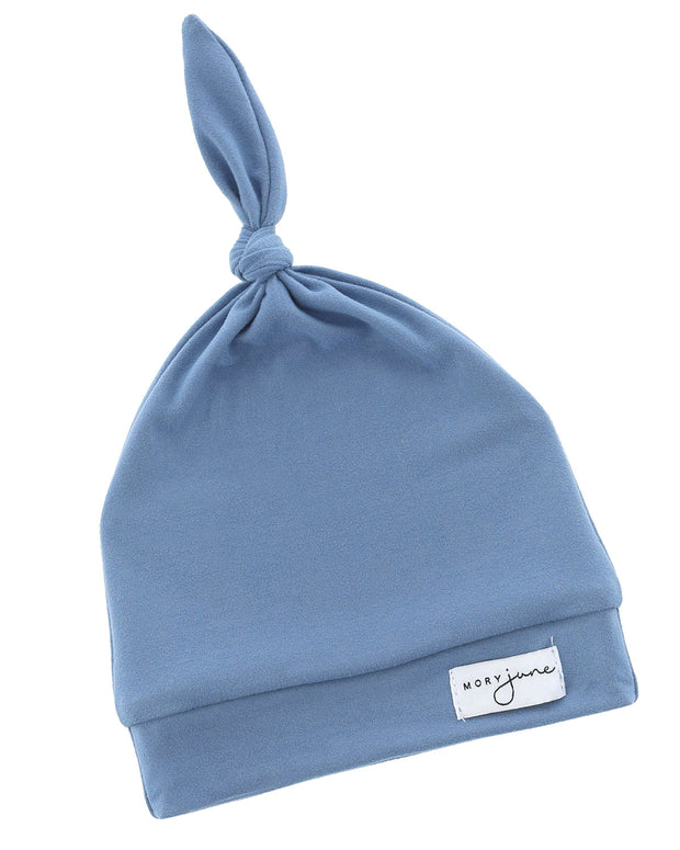 Top Knot Hat | Steel Blue