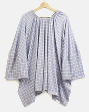 Bomb Shelter™ Nursing Cover | Grey Check - MoryJune