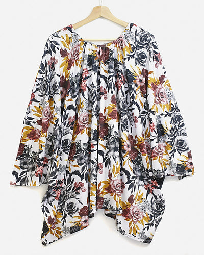Bomb Shelter™ Nursing Cover | Winter Floral - MoryJune
