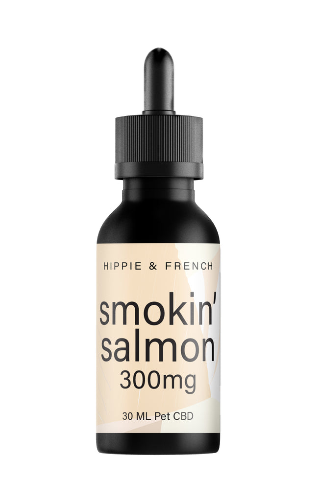 Hippie & French Smokin' Salmon 300mg Pet CBD