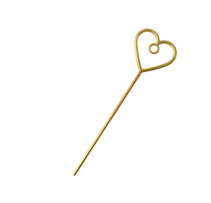 Heart Bun Pin Jay Holder
