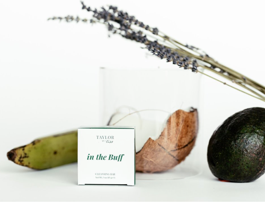 'in the buff' cbd cleansing bar