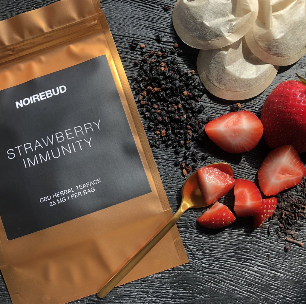 Strawberry Immunity CBD Tea Pack