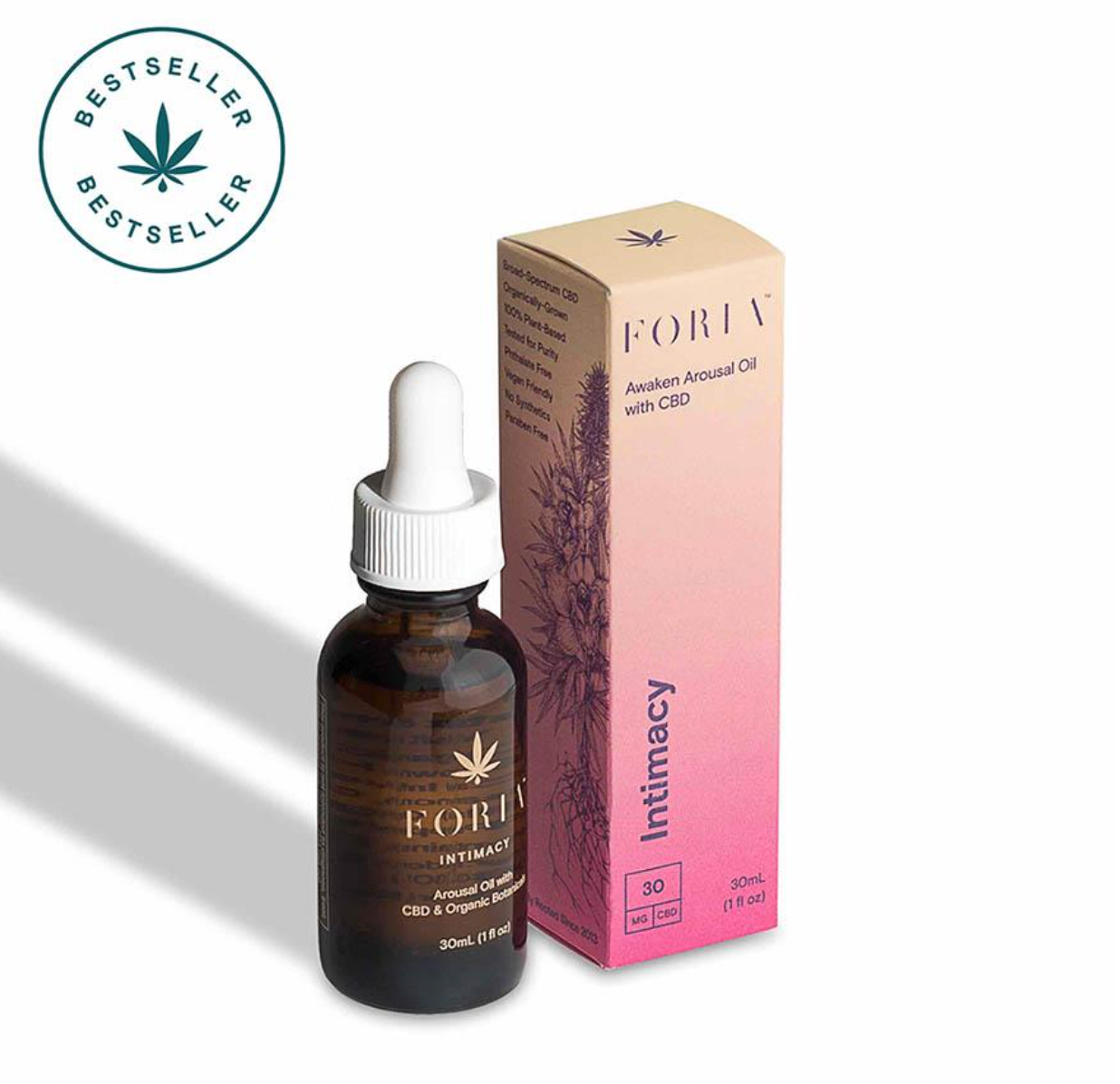 Foria Awaken Arousal CBD Pleasure Oil