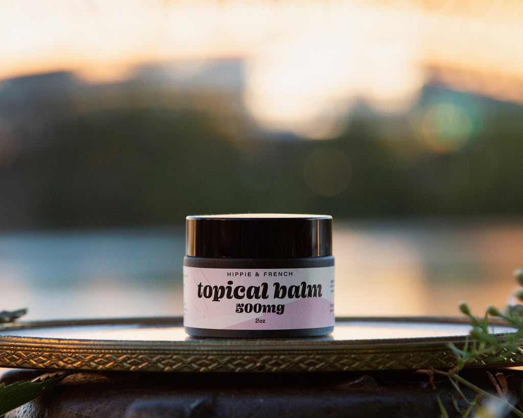 CBD Pain Relieving Topical Balm