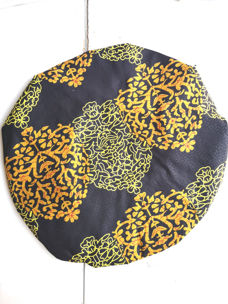 Bonnet de nuit satin/wax