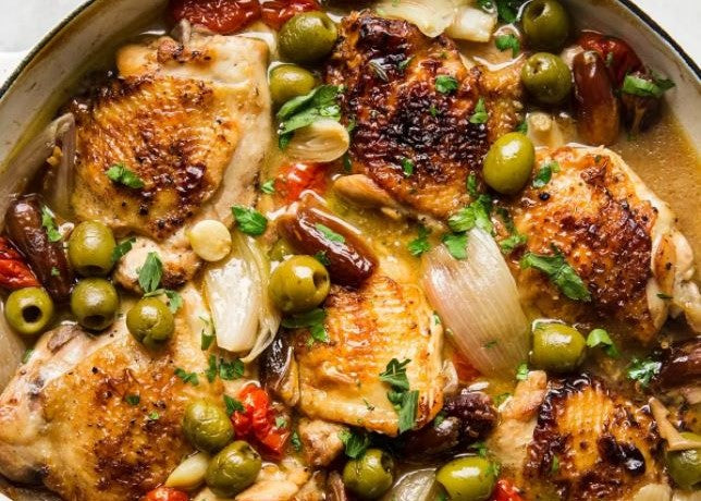 Tue Oct 20th - Chicken (or Veggie) Provençal