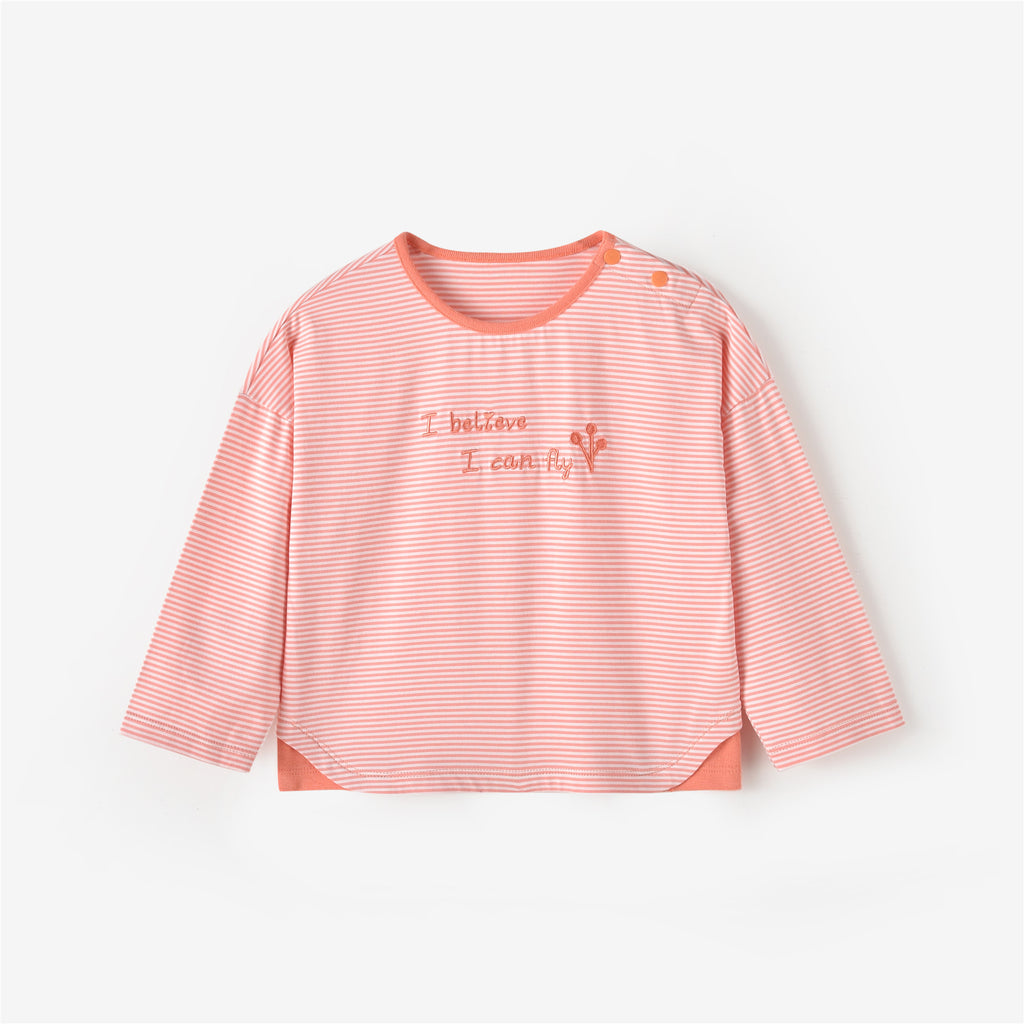 Alana L/S T-shirt Light Orange