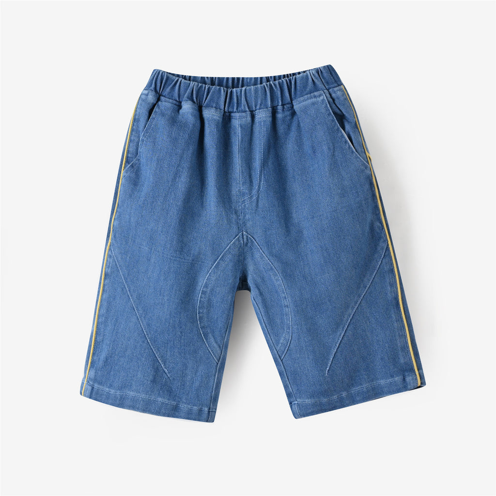 Wayne Denim Shorts Denim Blue
