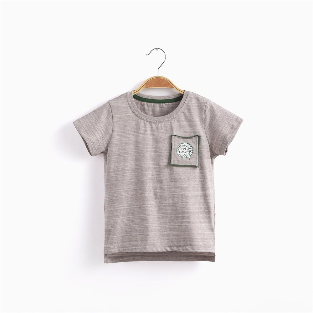 Slogan Pocket S/S T-shirt