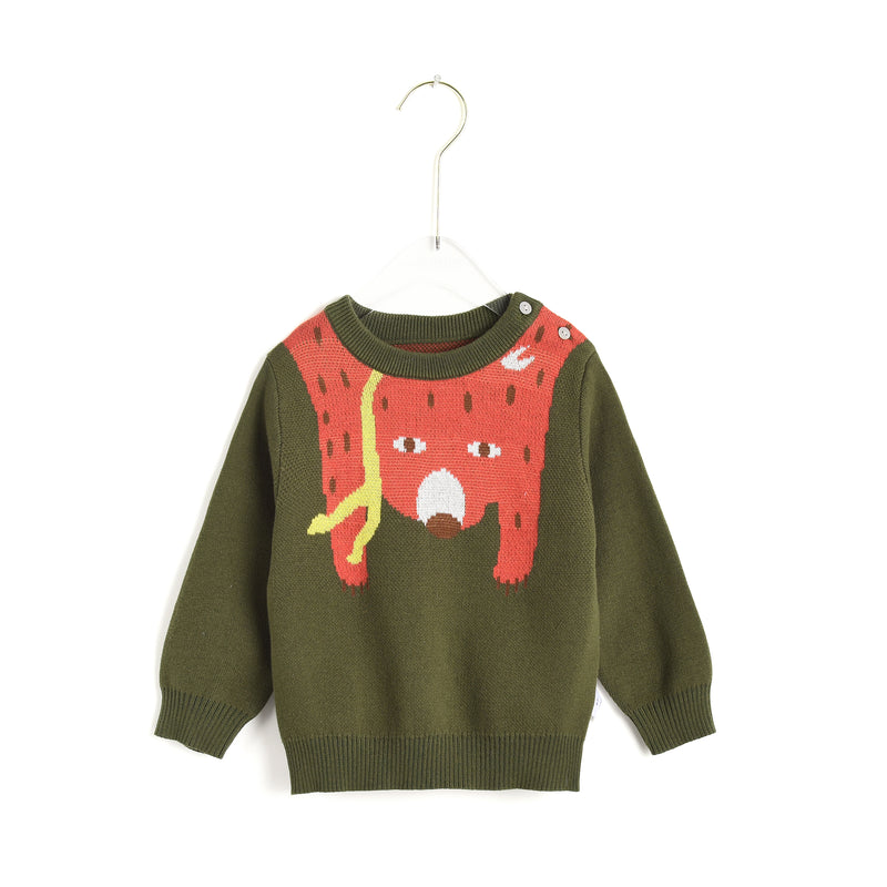 Upside Down Fox Sweater