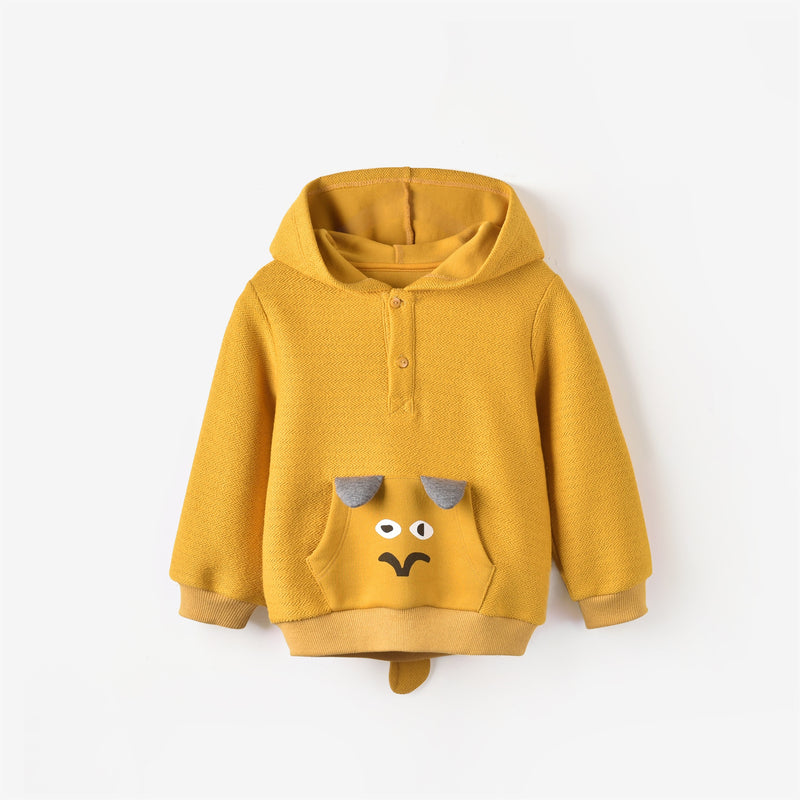 Easton Sweatshirt Mustard Yellow