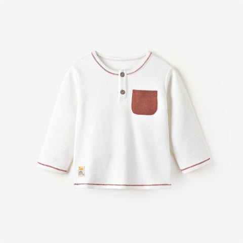 Madison L/S T-shirt CREAM