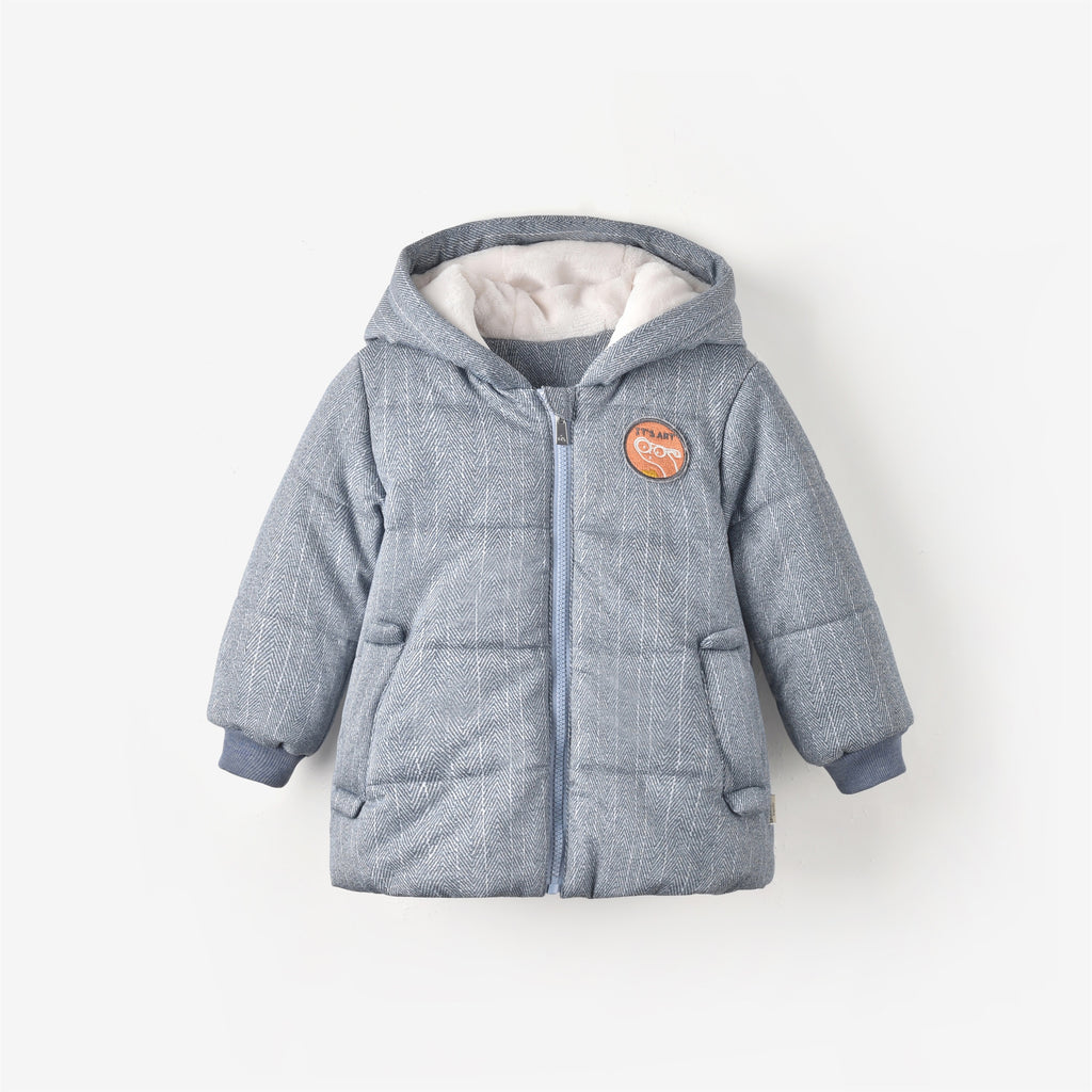 Thomas Coat Fog Blue