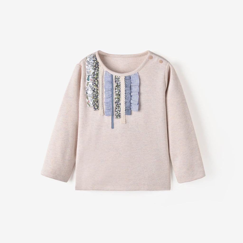 Olivia L/S T-shirt Wheat