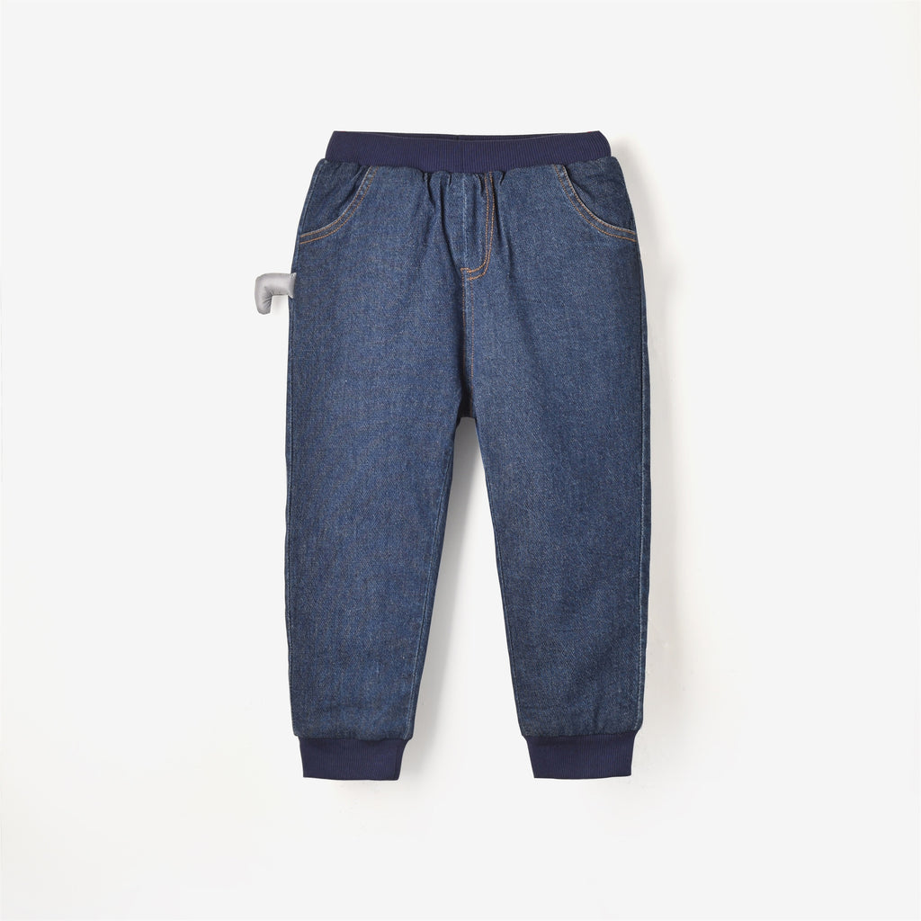 Victoria Pants Dark Denim Blue