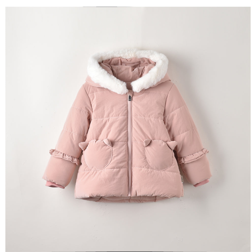 Ellie Coat Nude Pink