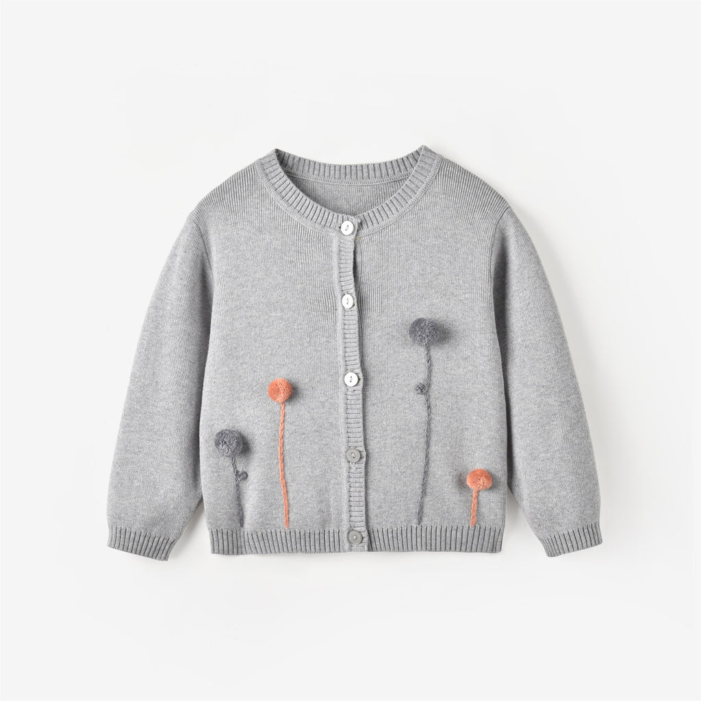 Leah Cardigan Light Grey