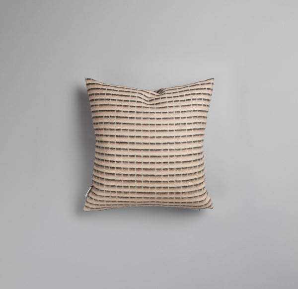 designorway.com - Agnes pink pillow case roros tweed - made in norway