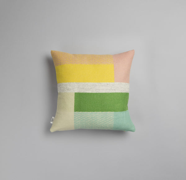 designorway.com - 103752 mikkel Pastel pillowcase - roros tweed - made in norway