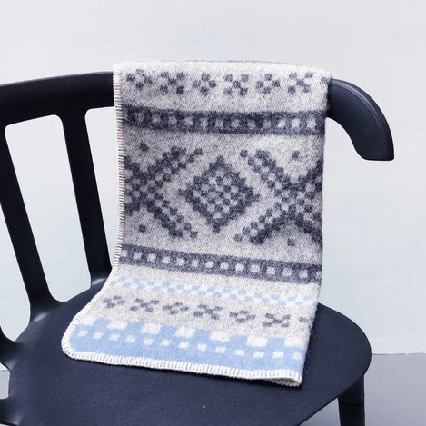 Marius Baby Blanket | Light Blue by Lillunn - designorway.com
