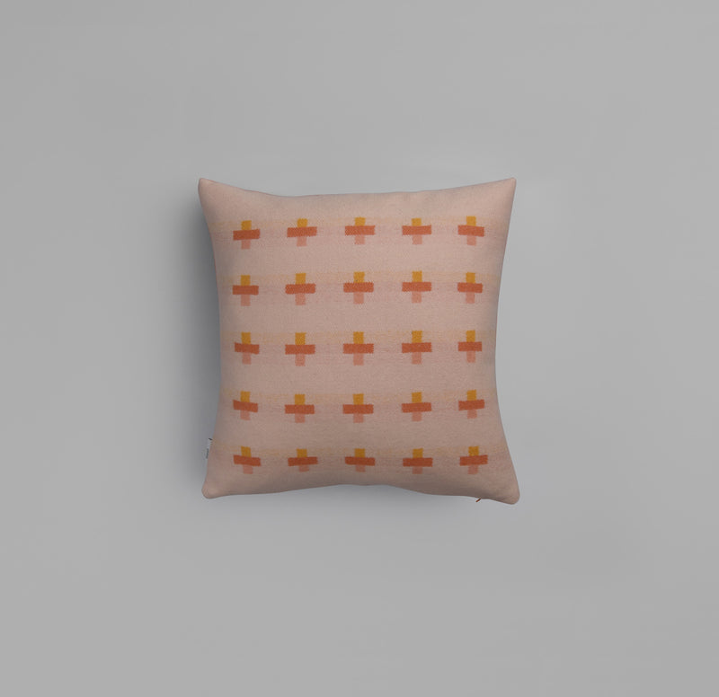 Syndin Cloudberry pillow  - røros tweed - designorway.com - made in norway