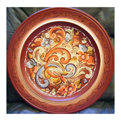 Rosemaling tray, made in norway, handmade in norway, designorway.com