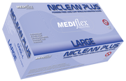 Niclean Plus Long Cuff Powder Free Nitrile Gloves