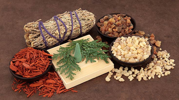 Herbs Resins and Incense