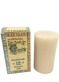 Meditation Range Candle - Small 40hrs