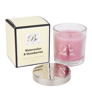 Watermelon & Strawberry Petite - Be Enlightened Candle