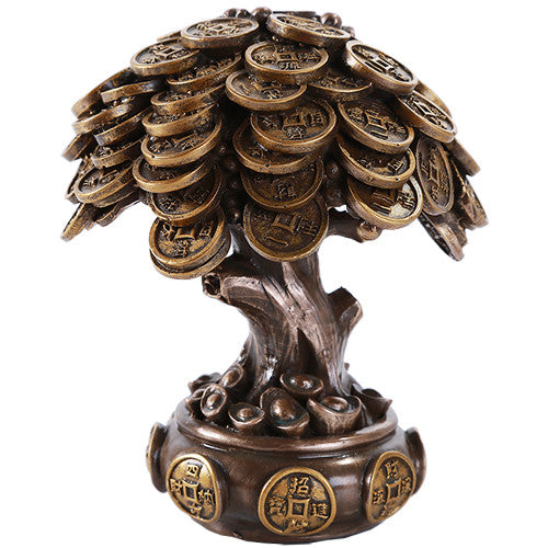 Feng Shui Money Tree - Cold Cast Bronze