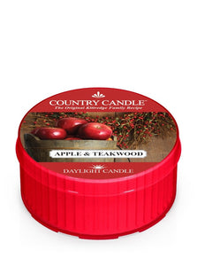 Country Candle Daylight - Apple & Teakwood