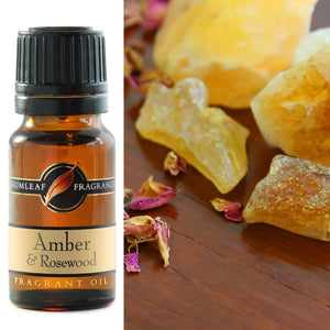 Amber and Rosewood Fragrance Oil