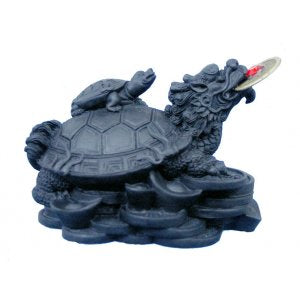 Black Money Turtle 62mm (Double Headed Dragon)