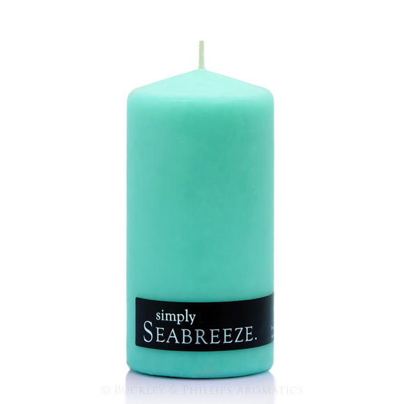 Simply Pillar Candle - Seabreeze