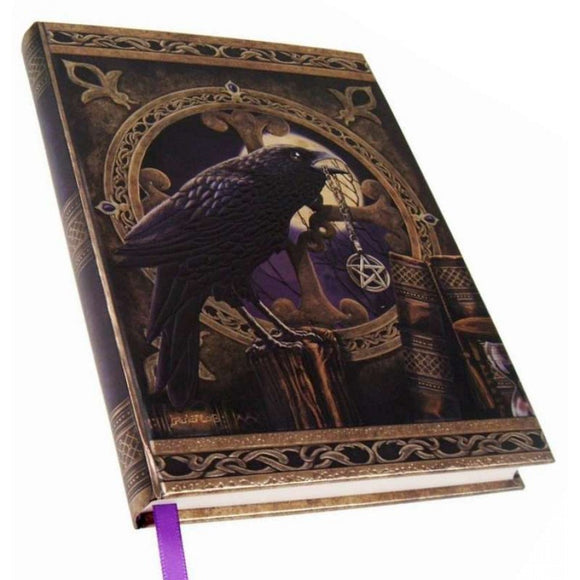 Embossed Journal - The Talisman Raven 17cm Lisa Parker