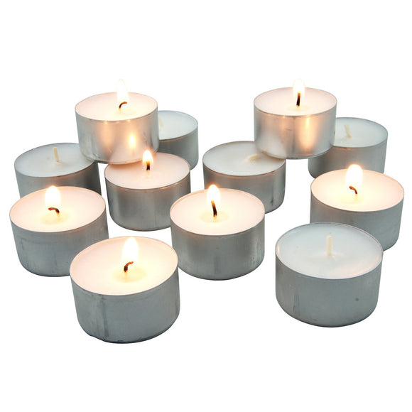 20 Pack - 9 Hour Unscented Tealight Candles