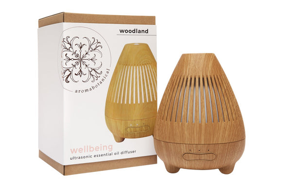 Wellbeing Ultrasonic Essential Oil Diffuser - Woodland