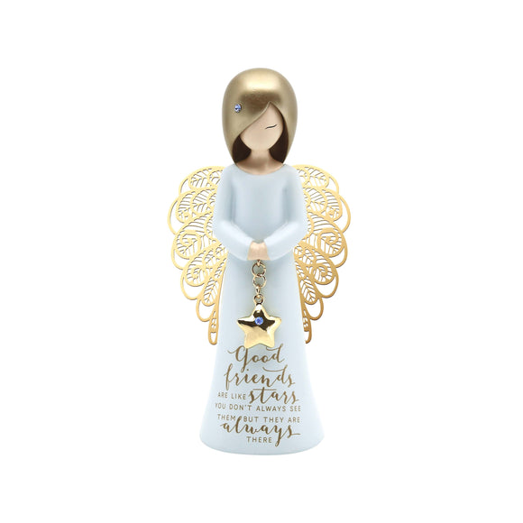 You Are An Angel Figurine 125mm - Good Friends Always There