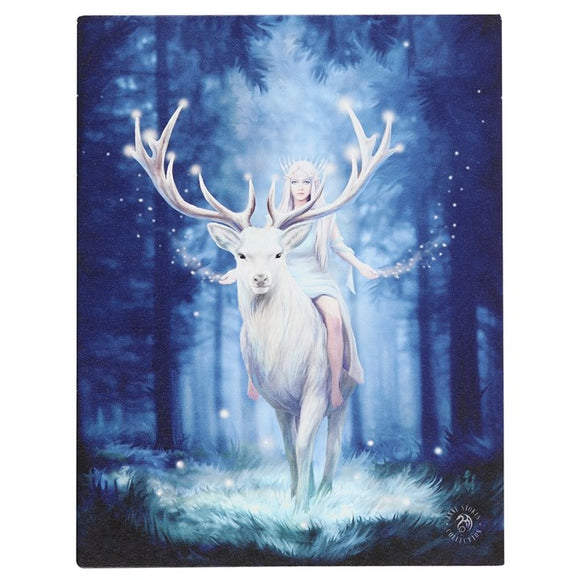 Fantasy Forest Canvas 19x25cm ~ Anne Stokes