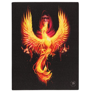 Phoenix Rising Canvas 19x25cm ~ Anne Stokes