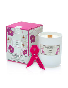 Inspire Bramble Bay Breast Cancer Soy Candle