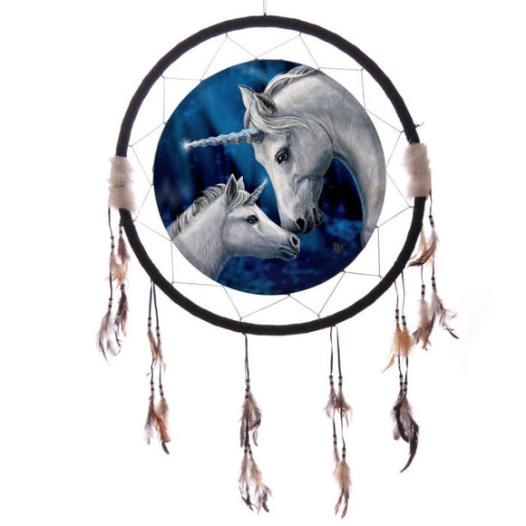 Sacred Love Unicorn Dreamcatcher 60cm (Lisa Parker)